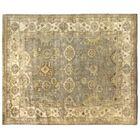 Oushak Hand Woven Wool Light Blue/Ivory Area Rug Rug Size: Rectangle 4' x 6'
