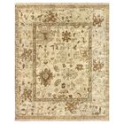 Oushak Hand Woven Wool Ivory/Pale Blue Area Rug Rug Size: Rectangle 12' x 15'