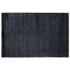 Wave Hand Woven Silk Navy Area Rug Rug Size: Rectangle 14' x 18'