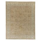Ziegler Hand Woven Wool Gold/Camel Area Rug Rug Size: Rectangle 4' x 6'
