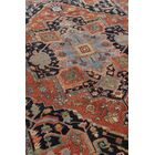 Serapi Hand-Knotted Wool Red/Blue Area Rug Rug Size: Rectangle 12' x 15'