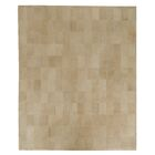One-of-a-Kind Suede Hand-Woven Beige Area Rug Rug Size: Rectangle 12' x 15'