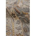 Jurassic Hand-Knotted Wool Gray/Beige Area Rug Rug Size: Rectangle10' x 14'