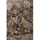 Jurassic Hand-Knotted Wool Black/Beige Area Rug Rug Size: Rectangle8' x 10'