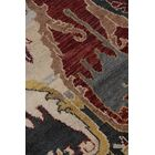 Jurassic Hand-Knotted Wool Black/Beige Area Rug Rug Size: Rectangle 10' x 14'