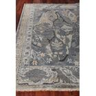 Jurassic Hand-Knotted Wool Gray/Beige Area Rug Rug Size: Rectangle6' x 9'