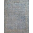 Cassina Hand-Woven Ivory/Blue Area Rug Rug Size: Rectangle 12' x 15'
