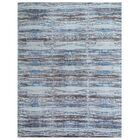 Reflections Hand-Woven Brown/Blue Area Rug Rug Size: Rectangle 10' x 14'