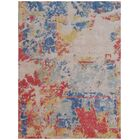 Reflections Hand-Woven Red/Blue Area Rug Rug Size: Rectangle 10' x 14'