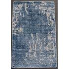 Carmen Hand-Woven Blue Area Rug Rug Size: Rectangle 10' x 14'