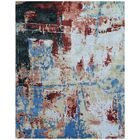 Antolini Hand-Woven Red/Blue Area Rug Rug Size: Rectangle 10' x 14'