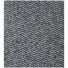 One-of-a-Kind Berlin Hand-Woven Black/Gray Area Rug
