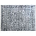 Windsor Hand-Woven Wool Silver Area Rug Rug Size: Rectangle 12' x 15'