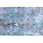 Ashley Hand-Knotted Blue/Gray Area Rug Rug Size: Rectangle 10' x 14'