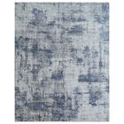 Reflections Hand-Woven Silver Area Rug Rug Size: Rectangle 6' x 9'