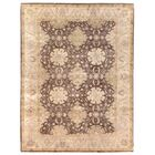 Hand Woven Wool Brown/Beige Area Rug Rug Size: Rectangle 12' x 15'