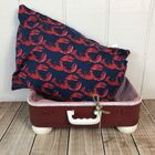 Life's a Beach Lobster Pet Suitcase Bed
