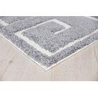Ruiz Moroccan Shag Gray/White Area Rug Rug Size: Rectangle 8' x 10'