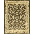 One-of-a-Kind Zarbof Hand-Knotted Wool Brown/Cream Area Rug