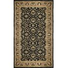 One-of-a-Kind Zarbof Vine Hand-Knotted Wool Black/Cream Area Rug