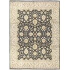 One-of-a-Kind Hand-Knotted Wool Black/Light Green Area Rug