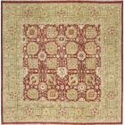 One-of-a-Kind Persian Hand-Knotted Wool Red/Gold Indoor Area Rug