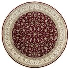 One-of-a-Kind Elegance Select Handwoven 10' x 10' Wool/Silk Red/Brown Area Rug