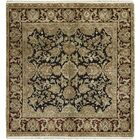 One-of-a-Kind Crown Select Handwoven 5' x 5' Wool Blue/Brown Area Rug