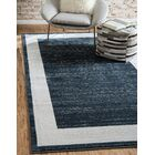 Uptown Yorkville Navy Blue Area Rug Rug Size: Rectangle 5' x 8'