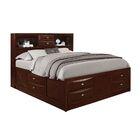 Treadwell Storage Platform Bed Color: Merlot, Size: Full