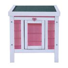 Alvin Wooden Little Small Animal Hutch Color: Pink