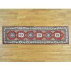 One-of-a-Kind Dorcey Kazak Super Oriental Hand-Knotted Wool Red Area Rug