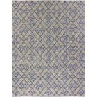 Trinity Handmade Dhurrie Wool Blue/Yellow Area Rug Rug Size: Rectangle 9' x 12'
