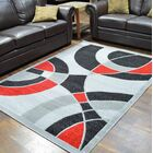 Cosper Gray/Black Area Rug Rug Size: Rectangle 5' x 7'