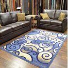 Cosper Blue/Beige Area Rug Rug Size: Rectangle 8' x 10'5