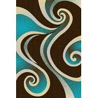 Mccampbell Brown/Turquoise Area Rug Rug Size: Rectangle 8' x 11'