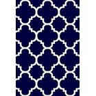 Mccampbell Navy Area Rug Rug Size: Rectangle 5' x 7'