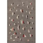 One-of-a-Kind Vintage Deco Handwoven Wool Gray Indoor Area Rug
