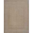 One-of-a-Kind Agra Genuine Hand-Knotted Wool Gray Indoor Area Rug
