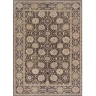One-of-a-Kind Agra Genuine Hand-Knotted Wool Brown Indoor Area Rug
