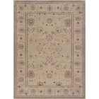 Agra Fine Hand-Knotted Wool Brown Indoor Area Rug