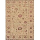 One-of-a-Kind High Quality Handwoven Wool Ivory Indoor Area Rug