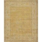 One-of-a-Kind Quality Handwoven Wool Gold Indoor Area Rug
