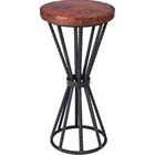 Tierra End Table Table Top Color: Natural Copper