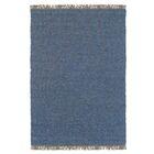 Landenberg Hand-Woven Blue Area Rug Rug Size: Rectangle 5'3