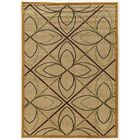 Alica Double Star Cream Area Rug Rug Size: Rectangle 8' x 10'