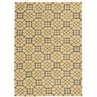 Formaran Hand-Tufted Gray/Butter Area Rug Rug Size: Rectangle 5' x 7'