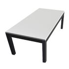 Lom Parsons Coffee Table Table Top Color: Blanco Puro
