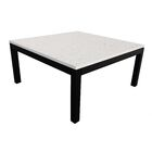 Lom Parsons Coffee Table Table Top Color: Dark Wood