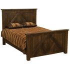 Frontier Panel Bed Size: Queen, Color: Cottonwood